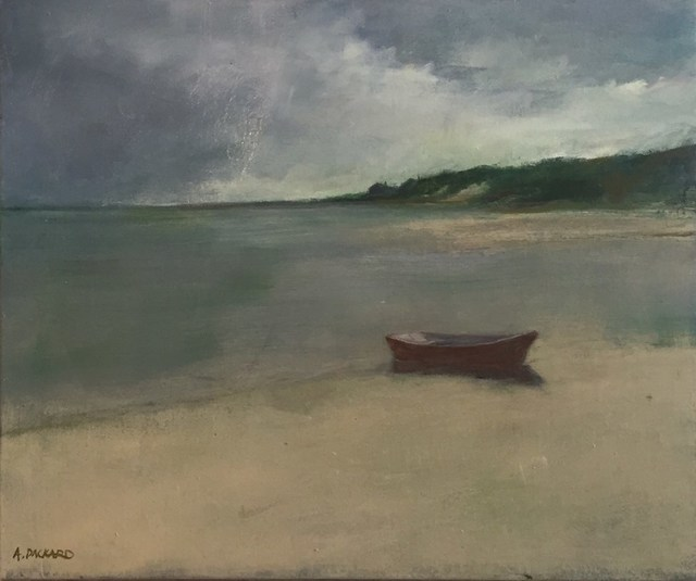 Anne Packard, 'Red Dory', 2016, Quidley & Company