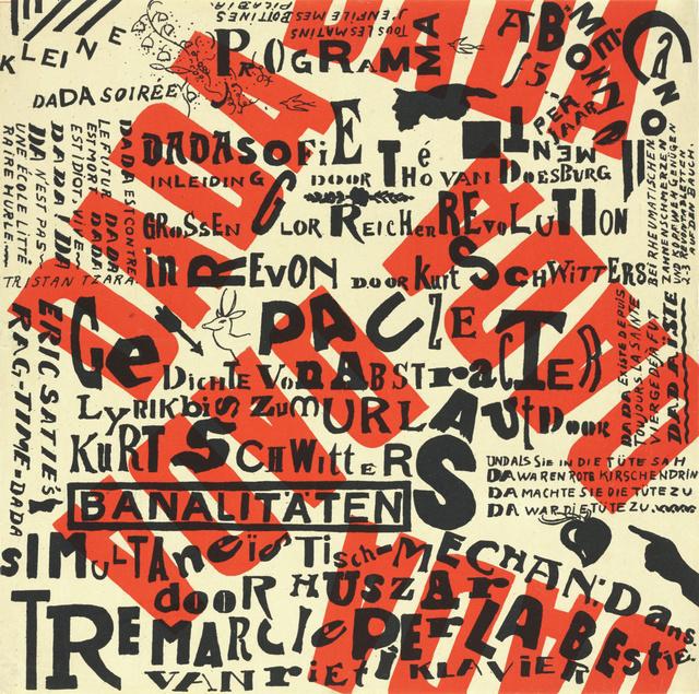 , 'Kleine Dada Soiree,' 1922, Omnibus Gallery