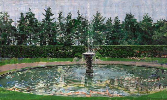 , 'Fountain,' 2018, Odon Wagner Gallery