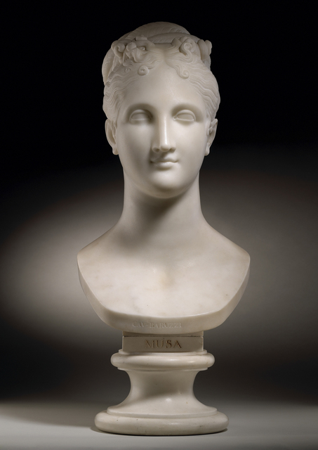 , 'Bust of a Muse,' ca. 1820, Tomasso Brothers