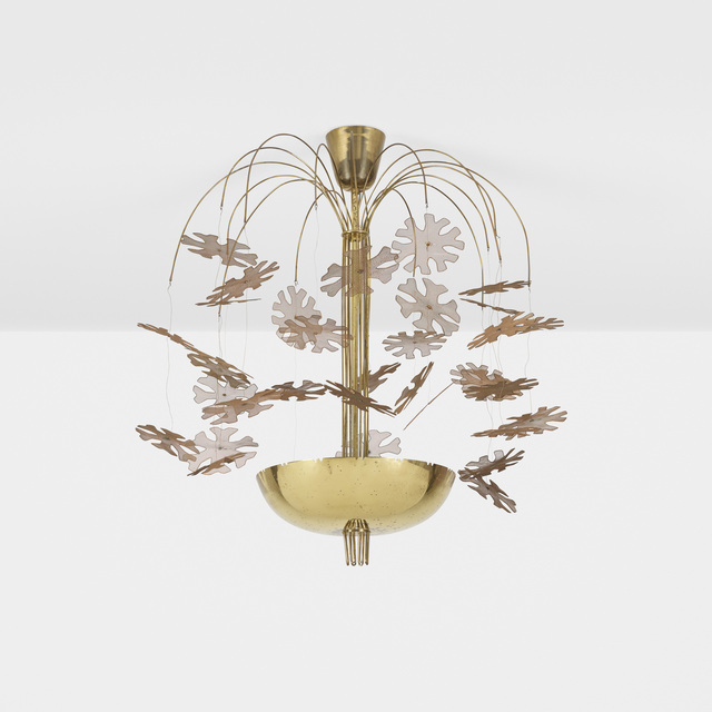 Paavo Tynell, 'Rare and Important chandelier', c. 1948, Wright
