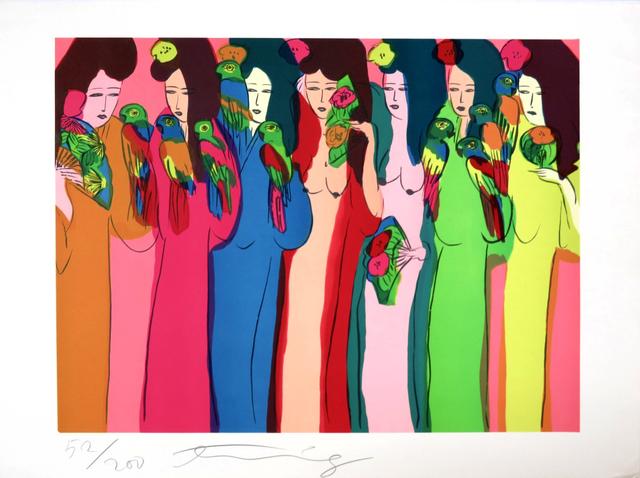 , 'Geishas aux perroquets ,' 1982, Fairhead Fine Art Limited