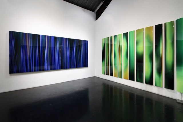 Michel Tabori, 'Reflections of the Moon After Midnight #1, # & #4 Triptych', 2018, William Turner Gallery