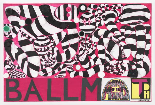 Trenton Doyle Hancock, 'BALLMAT', 2018, James Cohan