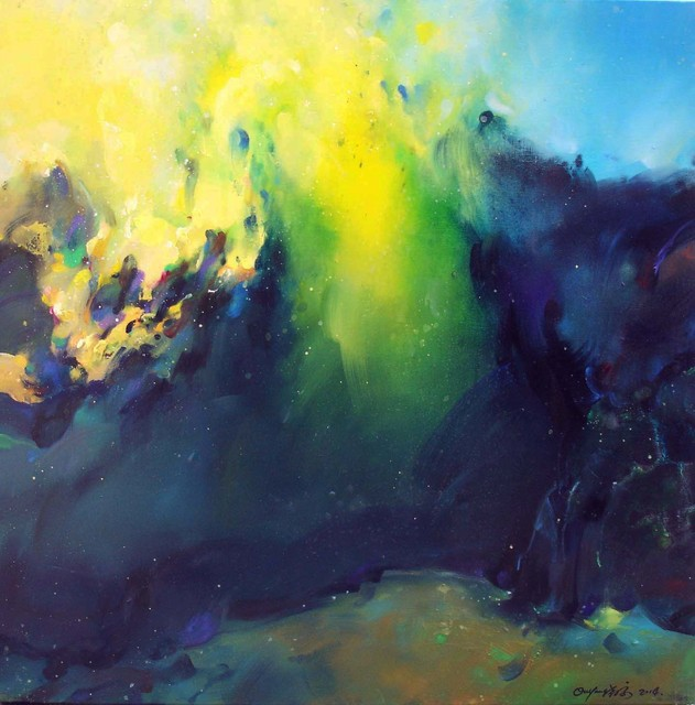 , 'Blue Landscape,' 2014, BAM Gallery