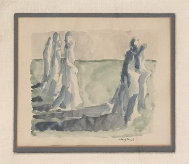 , 'Untitled (Standing Figures),' ca. 1960, Anders Wahlstedt Fine Art