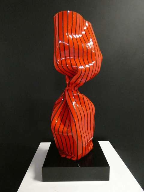 Laurence Jenkell, 'WRAPPING TWIST ROUGE RAYE NOIR', 2019, BOCCARA ART
