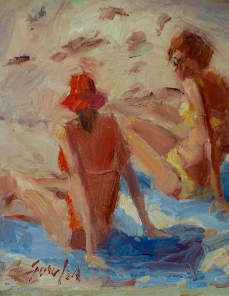 , 'Beach Girls ,' 2017, Wally Workman Gallery