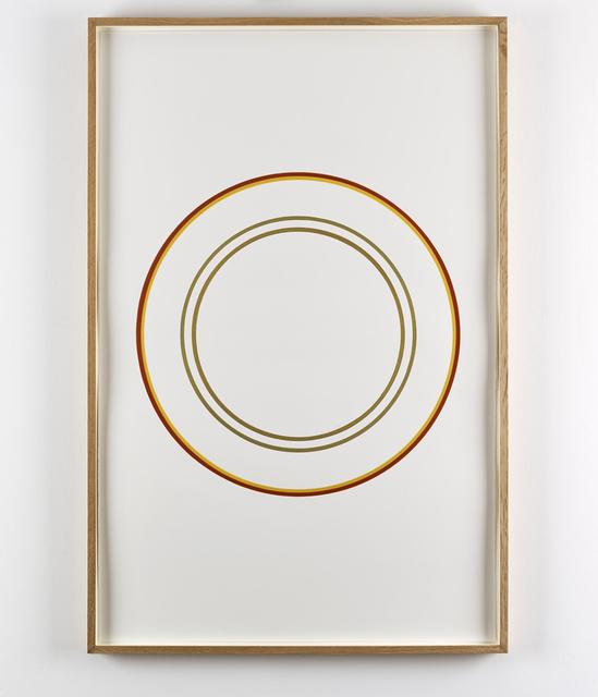 , 'Edinburgh Circles,' 2006, Galerie Christian Lethert
