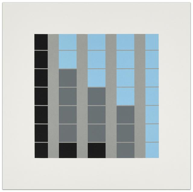 Julian Opie, 'Office Windows. B1', 2017, Krakow Witkin Gallery