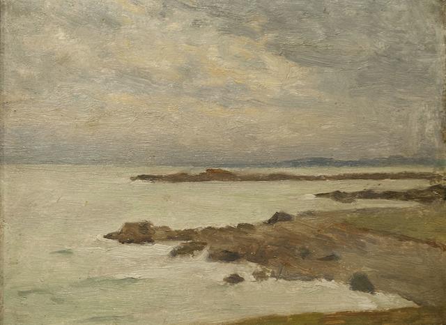 , 'The Coast at Louisbourg,' , Canadian Fine Arts