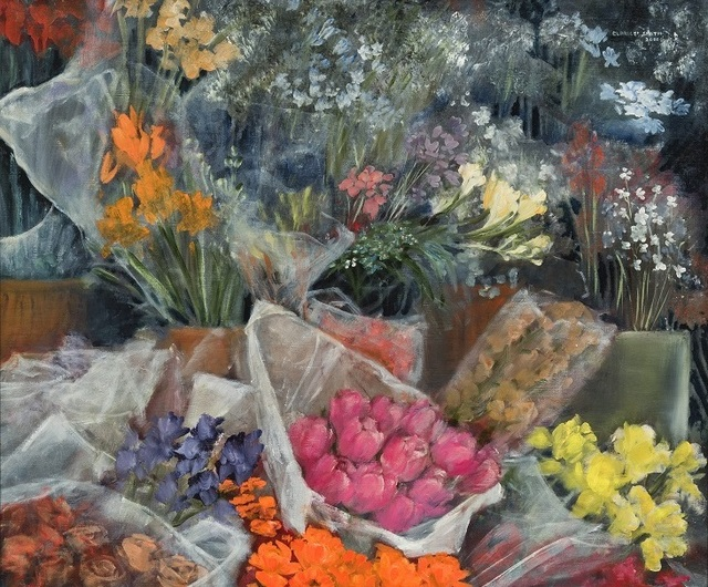 Clarice Smith, 'Flower Shop', 2000, Gerald Peters Gallery