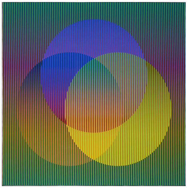 , 'Couleur Additive 007 D,' 2006, RGR+ART