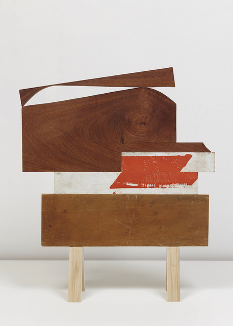 """Emily Feinstein, '""""Wood Untitled"""" ', 2016-17, Sculpture, Mahogany, pine, paint and pencil, Park Place Gallery"""