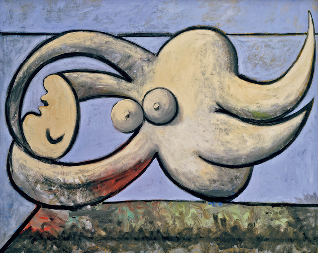 Pablo Picasso, 'Reclining Nude', 1932, Painting, Oil on canvas, Tate