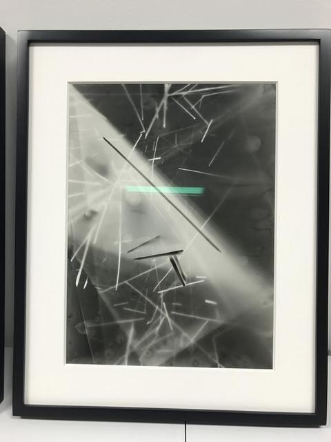 , 'Untitled (Unique Photogram),' 2016, SILAS VON MORISSE gallery