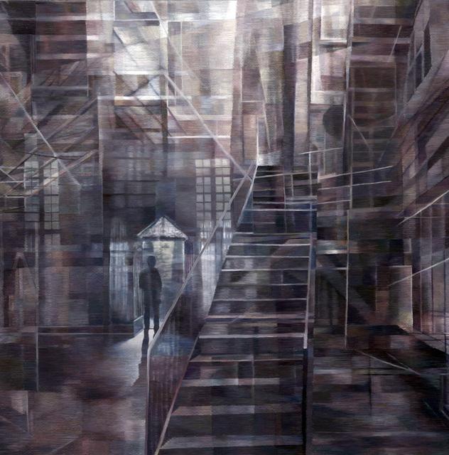 , 'Blue Doorway,' 2016, Duane Reed Gallery