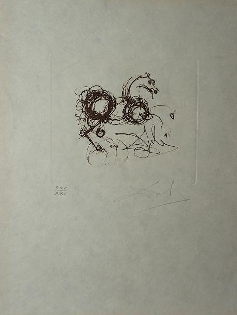 Salvador Dalí, 'Symbols Superstition (Le Dragon)', 1970, Fine Art Acquisitions