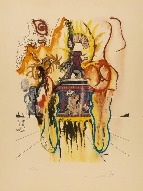 Salvador Dalí, 'Mystic (Indian) (M & L 1396b)', 1973, Forum Auctions