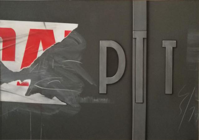 , 'PTT,' 1982, Galerie du Griffon