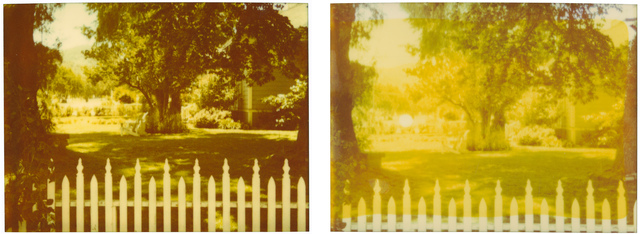 , 'White Picket Fence, diptych,' 2004, Instantdreams