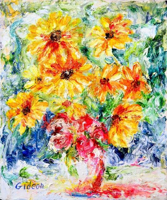 , 'Sunflower,' , Venvi Art Gallery