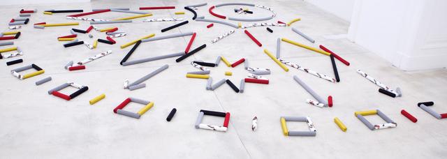 , 'An indelicate arrangment: A high entropy rug for Ludwig Boltzmann,' 2016, Galerie Krinzinger