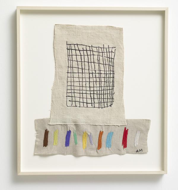, 'Grid 11, Purple Dark,' 2017, Winston Wächter Fine Art