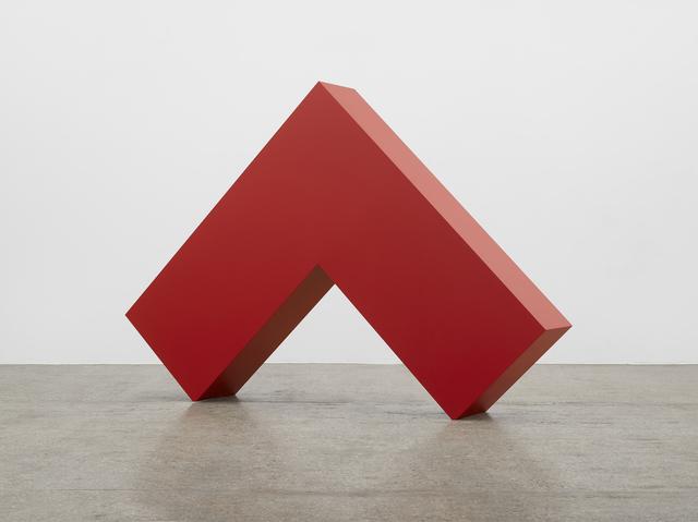 , 'Angulo Rojo,' 2017, Lisson Gallery