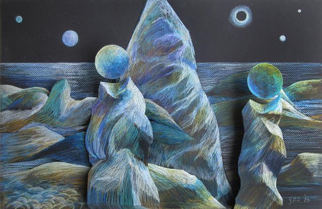, 'Seven Moon Plane,' 2018, Ro2 Art