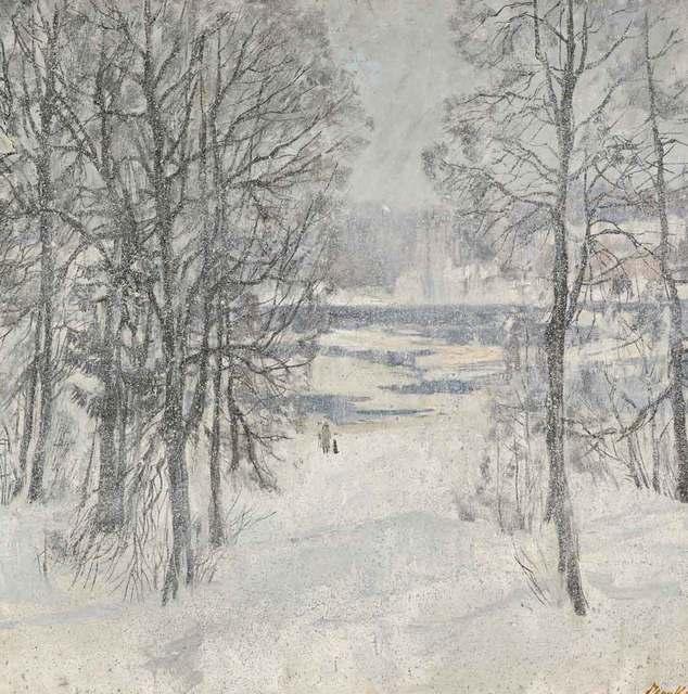 , 'Winter Snow,' 1980, Catto Gallery