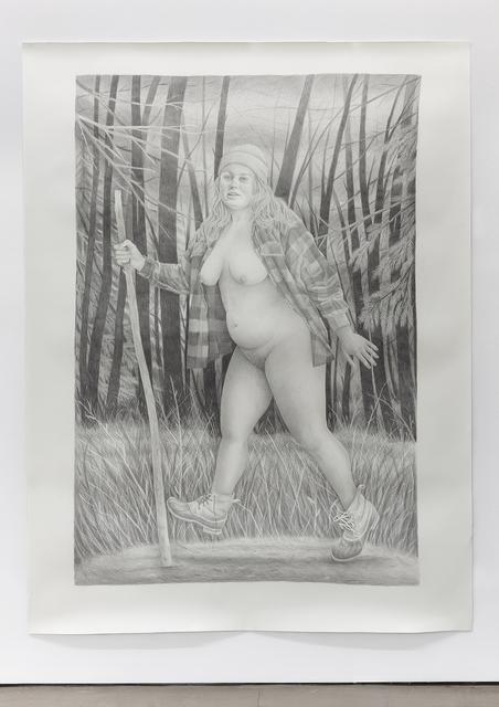Rebecca Morgan, ' Woods Walker', 2014, Asya Geisberg Gallery