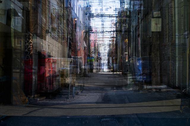 , 'Alleys,' 2011, Winsor Gallery