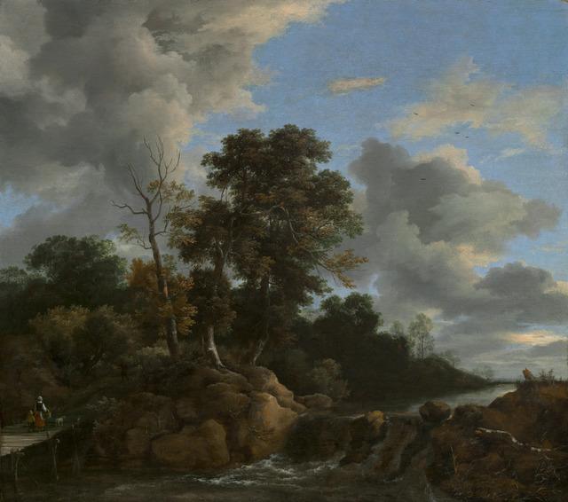 Jacob van Ruisdael, 'Landscape', ca. 1670, National Gallery of Art, Washington, D.C.