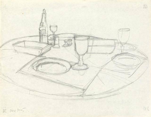 Alex Katz, 'Tabletop Still Life', Swann Auction Galleries