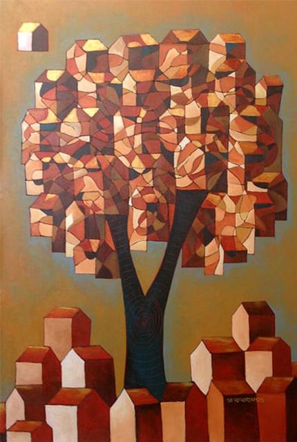, 'Árvore construção   |   Construction Tree ,' 20019, Galeria Canoa
