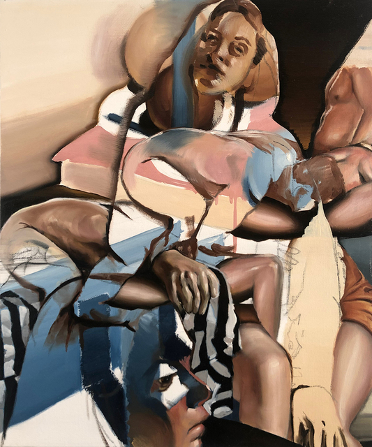 John Krausman Lark, 'Mother', 2018, Painting, Oil on Canvas, The Untitled Space