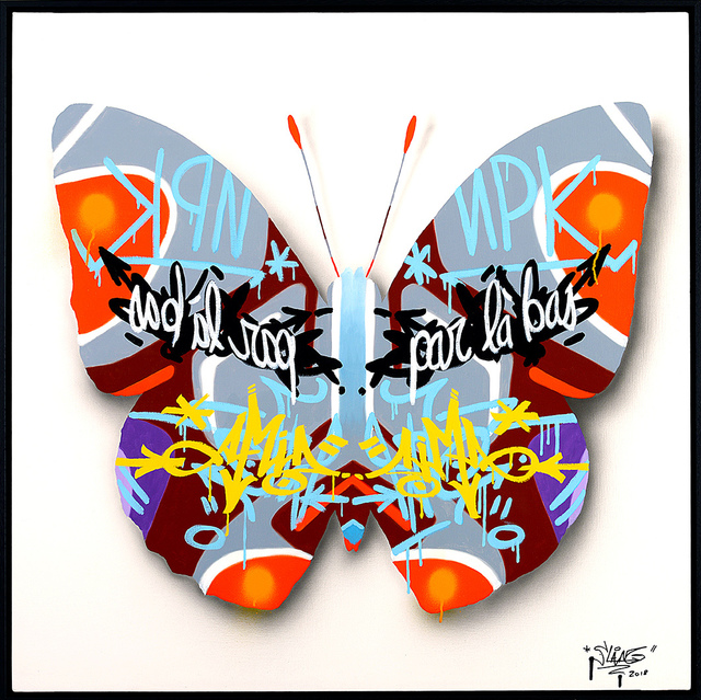 , 'Urban Butterfly 6,' 2018, Galerie Art Jingle