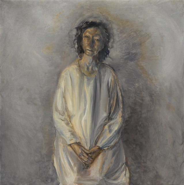 , 'Kate in White,' 2017, Victoria Miro