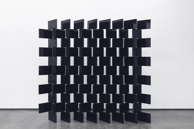 , 'Paravent: Prussian Blue & Black 88,' 2016, Galerie Eva Presenhuber
