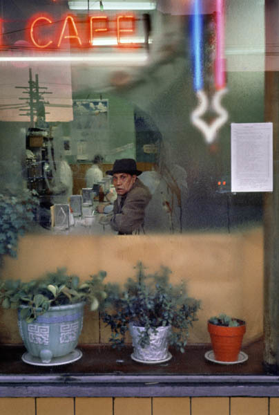 Fred Herzog, 'Cafe, Main', 1960, Laurence Miller Gallery