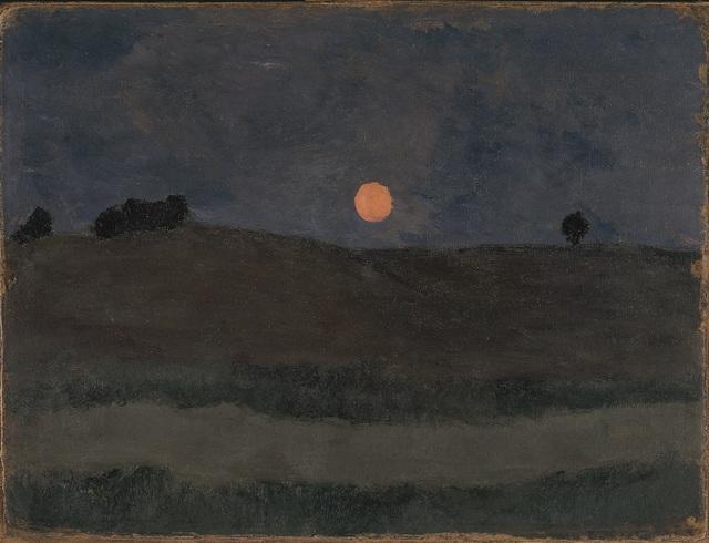 , 'Lune au-dessus d'un Paysage,' 1900, Musée d'Art Moderne de la Ville de Paris