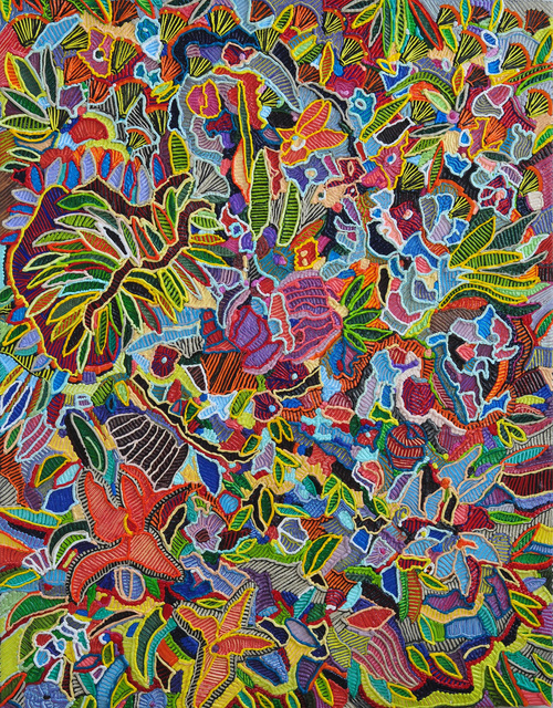 , 'Flora Frenzy,' 2017, The Hole