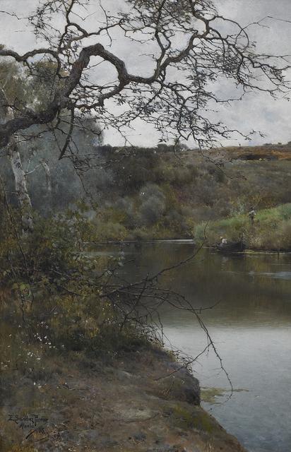 , 'A Peaceful Moment in Acala,' 1886, Daphne Alazraki Fine Art