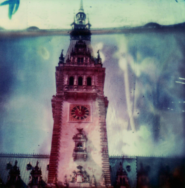 Carmen de Vos, 'Hamburg-Rathaus #01 - from the series US Road trip Diary ', 2007, Photography, Archival pigment print on canvas, photo based on an expired Polaroid, Instantdreams
