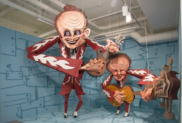 Wayne White, 'The Louvin Brothers', 2014, Joshua Liner Gallery