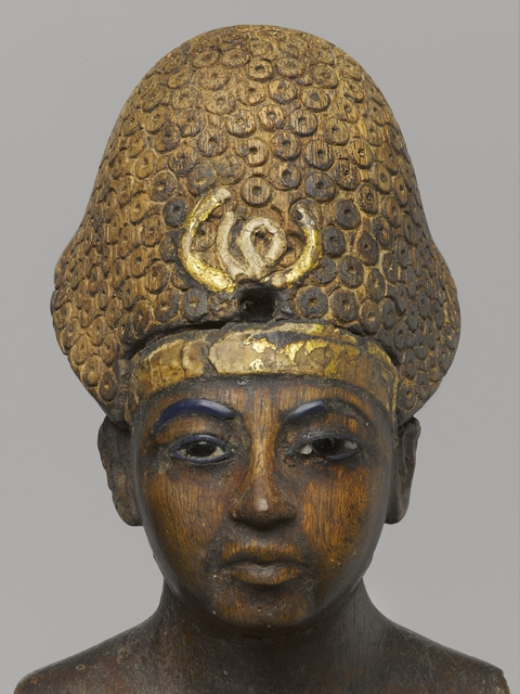 , 'Amunhotep III (detail),' ca. 1390, Brooklyn Museum
