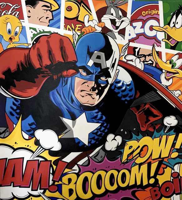 , 'Captain America,' 2018, Thompson Landry Gallery