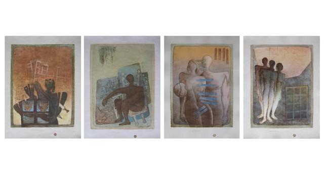 , 'Four Seasons 5,' 2016, al markhiya gallery