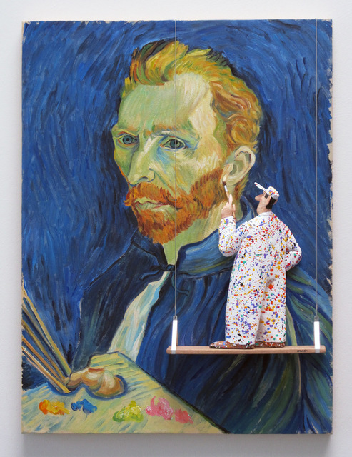 , 'GMIA: Van Gogh Self-Portrait, 1889,' , Water Street Gallery